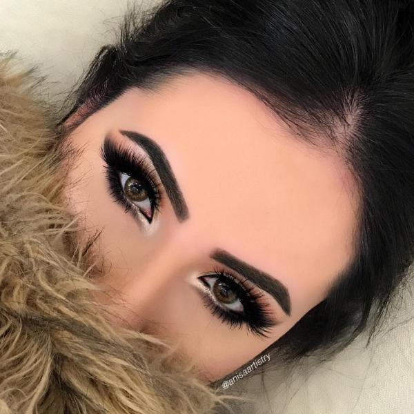 عکس مدل ارایش چشم دخترانه 2019 | عکس مدل آرایش چشم دخترانه 2019