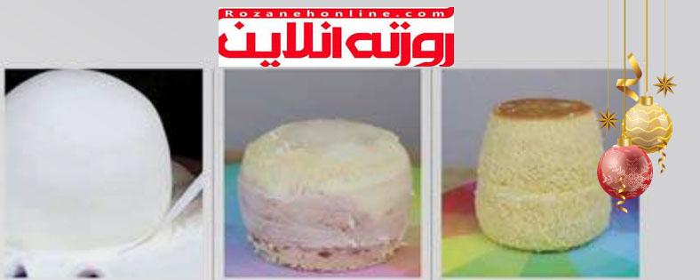 طبخ درست و صحیح : کیک آدم برفی ویژه سال نو میلادی