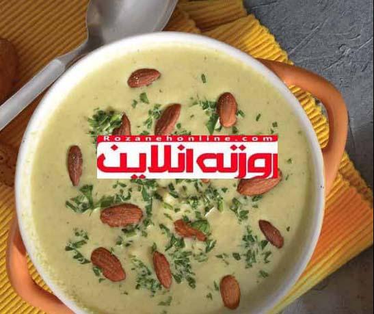با سوپ سرد ماستی , پیش غذای متفاوت داشته باشید