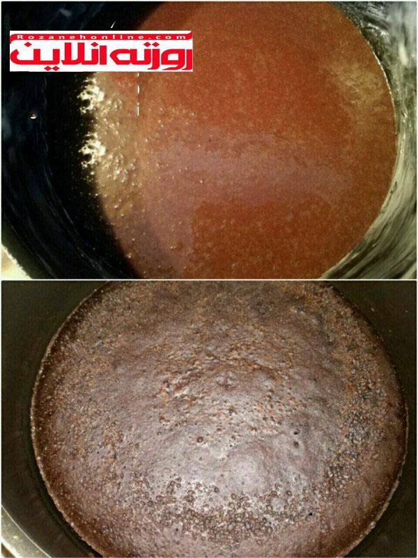 کیک موز با طعم قهوه با بهترین دستور تهیه