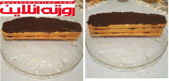 کیک کانتکس با ساده ترین روش
