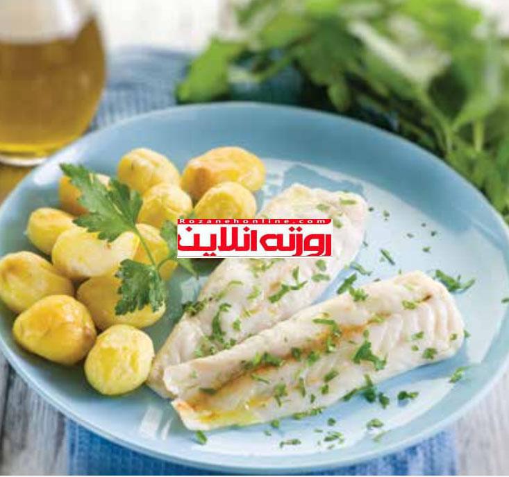 روش طبخ ماهی انگلیسی