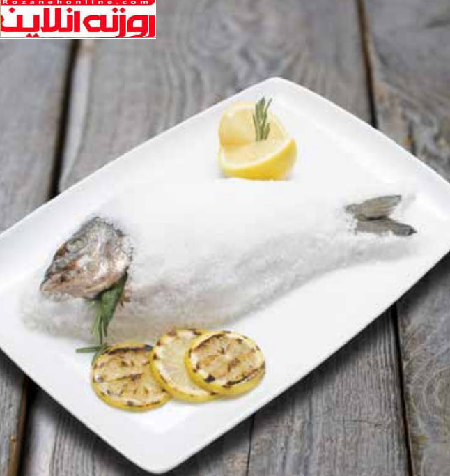 طبخ درست و اصولی ماهی در نمک