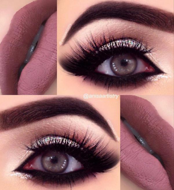 مدل آرایش چشم 2019 -مدل سایه چشم 2019 -آرایش چشم 1398