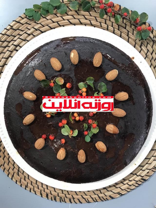 کیکی که پف نمیکند: کیک براونی با استفاده از کفیر
