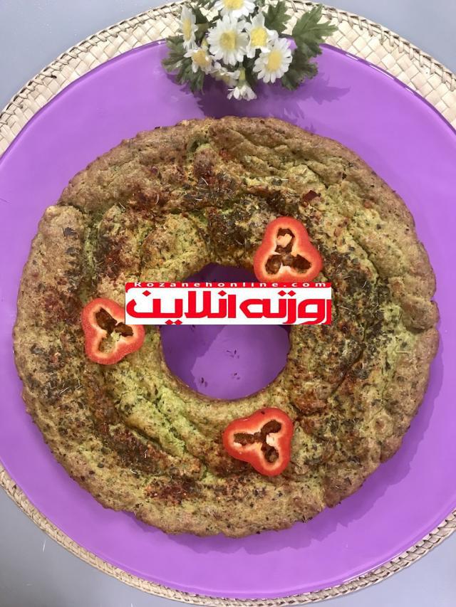 کیک اسفناج و آووکادو : عمراَ این مدل کیک خورده باشی