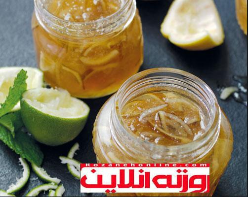 کامل ترین شیوه درست کردن مربای لیمو ترش
