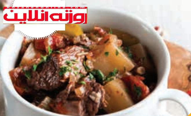 خوراک غنی از پتاسیم : خورش آلو بخارا