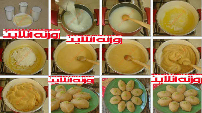 چگونه لذیذترین حلوای آرد با استفاده از شیر را درست کنیم