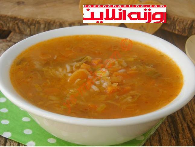 چگونه بدون شیر و خامه سوپ تره فرنگی درست کنیم