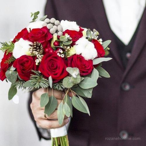 tags - Bridal Bouquet 173 Copy - جدیدترین دسته گل های مصنوعی عروس شیک برای سلیقه های مختلف - %d9%85%d8%af%d9%84-%d8%af%d8%b3%d8%aa%d9%87-%da%af%d9%84, %d8%aa%d8%a7%d8%b2%d9%87-%d9%87%d8%a7%db%8c-%d8%af%d9%86%db%8c%d8%a7%db%8c-%d9%85%d8%af%